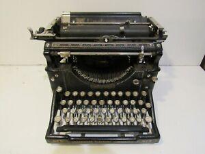 Vintage 1917 Underwood Standard Typewriter No. 5 Deco Hemingway Rare Classic