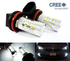 2x H11 H8 High Power CREE LED 50W HeadLight Sidelight Daytime Running Fog Light