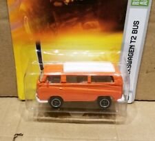 Matchbox Volkswagen T2 Bus, orange colour , long card in mint condition