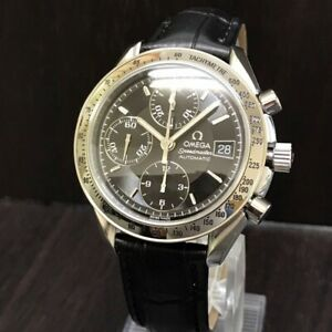 OMEGA Watch Speedmaster 3513 50 Black   Automatic St.Steel Chronograph Date T125