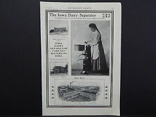 The Breeder's Gazette, Nov. 28, 1906, One Advertising Page, Double Sided S2#14
