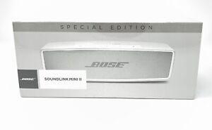 BOSE SoundLink Mini II SPECIAL EDITION Wireless Bluetooth Phone Speaker SILVER