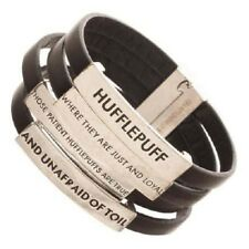 Harry Potter Leather Wristband Hufflepuff Quotes