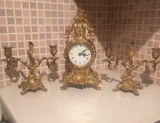 Latón sólido conjunto de reloj Robert Grant