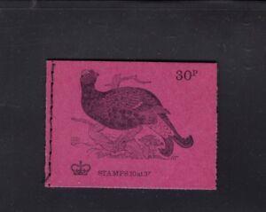 Great Britain 30p Black Grouse Bird December 1972  DQ67