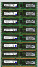 Micron 128GB (8x16GB) 2Rx4 PC3L-10600R ECC REG DDR3 Memory Server/Workstation