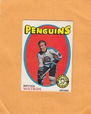 1971-72 O PEE CHEE BRYAN WATSON NO:132   Ex mint +      LOT 127