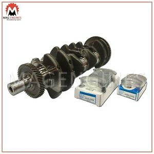CRANKSHAFT WITH BEARINGS HYUNDAI D4EB FOR SANTA FE SONATA GRANDEUR 2.2 LTR 05-10