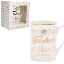 LEONARDO Mad Dots 50th Birthday Mug #lp33861