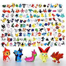 144 PCS Pokemon Miniature Set HOT Mini Action Figures Pokémon Go Toy Gift Set