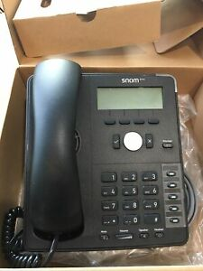 Snom Phone D715 5 Function Keys Gigabit And Usb 4258 Tested Works With Box