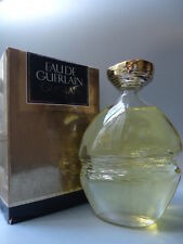 EAU DE GUERLAIN COLOSALL 250ml VINTAGE 1980s RARE GOLD TOPPED BOTTLE NOT A1 BOX