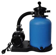 Sandfilteranlage Sandfilter Filteranlage ECO 300 mit SPS 75-1 Pumpe
