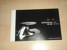 58768) Audi - Bang & Olufsen - Prospekt 03/2010