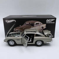 Hot wheels Elite 1:18 Aston Martin DB5 Goldfinger JAMES BOND 007 BLY20 Diecast