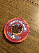 $1 tropicana tropworld  obsolete atlantic city nj  casino chip shipping is 3.99