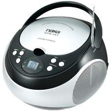 NAXA(R) NPB251BK Naxa(R) Portable CD Player with AM/FM Radio (Black)