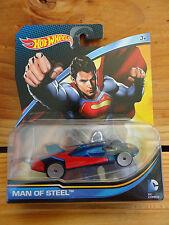 Hot Wheels DC Comics 2015 Man of Steel (SUPERMAN) CFT33 (A+/A)