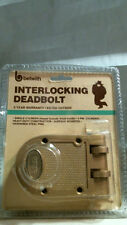 Belwith Interlocking Deadbolt Brass 1120 Hardened Steel