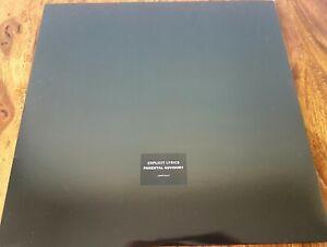 Prince The Black Album 2 LP's Coloured Clear  Vinyl  Promo