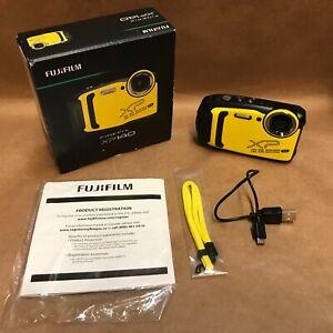 Fujifilm Finepix XP140 XP 140 16.4MP WaterProof Shock Proof Camera - Yellow