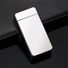 Dual Electric USB Lighter Rechargeable Windproof Flameless Cigar Lighter FD