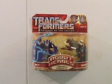 Transformers Revenge of the Fallen Jolt and Ravage Robot Heroes NEW