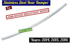 Land Rover Discovery Sport Outer Steel Rear Bumper Protectors 2014, 215, 2016