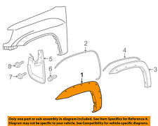TOYOTA OEM Tacoma Front Fender-Wheel Well Flare Arch Molding Left 7587204030
