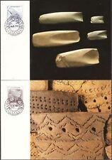 Stone Age Ceramics And Tools Aland Finland Maxi FDC1994