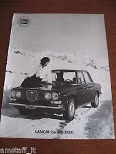 *18=LANCIA BERLINA 2000=1971=PUBBLICITA'=ADVERTISING=WERBUNG=PUBLICITE=