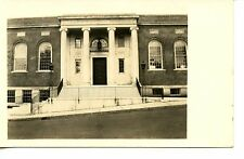 B F Brown Junior High School-Fitchburg-Mass-RPPC-Vintage Real Photo Postcard