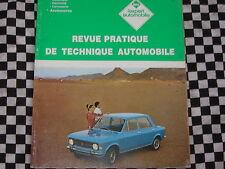 revue technique FIAT 128 SPORT &  4 PORTES + CARROSSERIE / français