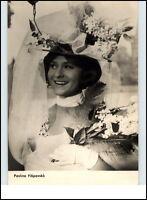DDR Starfoto Fernsehen Film Schauspielerin Actress 1968 Pavlina Filipovsko Photo