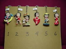 BETTY BOOP KEY CHAIN TOP HAT 3-D DESIGN # 2  (RETIRED ITEM)