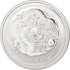 [#88738] Australie, 50 Cents Année du Dragon 2012, 1/2 once Argent, KM 1663
