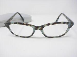 Warby Parker Upton 142 Eyeglasses Frames Tortoise 52-17-145 w/ Case
