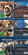 HANGOVER 1 2 3 --- Blu-ray --- Komplette Trilogie --- Uncut & Extended ---