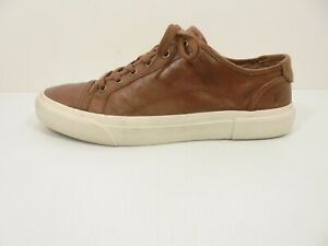 Nice! Mens Brown Leather FRYE Lace-Up Sneakers - Shoe Size US 11 M