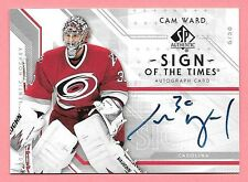 06/07 SP Authentic Sign Of The Times #CW Cam Ward On Card Autograph Insert