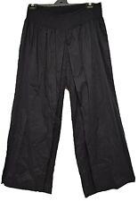 TS pants SON plus sz S / 16 'Globe Trotter Crop' cotton wide fit