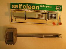 Lot Of 2 Kitchen Tools 1) Garlic Press By Rowoco  &  2) Meat Tenderizer By Elpo
