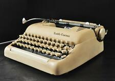 Vintage Smith-Corona Silent Super Portable Typewriter W/ Case and Key EXCELLENT