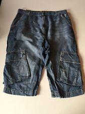 Fake London Genius Distressed Cropped Jeans