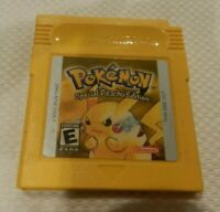 Pokemon Yellow Version Special Pikachu Nintendo Game Boy Game Color Cart Saves
