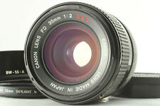 [Excellent+5] Canon FD 35mm f/2 S.S.C. SSC MF Wide Lens From JAPAN #019