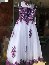 NEW Flower Girl Pageant Wedding Bridesmaid Party Dress SZ7