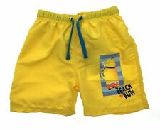 4bbb558c9d Boys Character Swim Shorts Swimming Beach Trunks Holiday School Waist Kids  Size Minions 4 Years