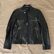 balenciaga moto racer leather jacket Size 50 $4560 Sale!!!!!!!!!