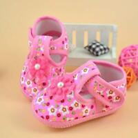 Baby Infant Kid Girl Soft Sole Crib Shoes Toddler Newborn Shoes 0-10 M anti-slip